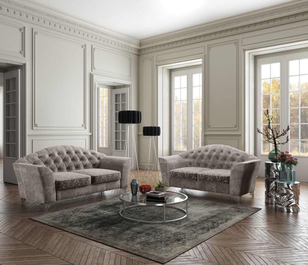 Sofa Set Tasso in grey