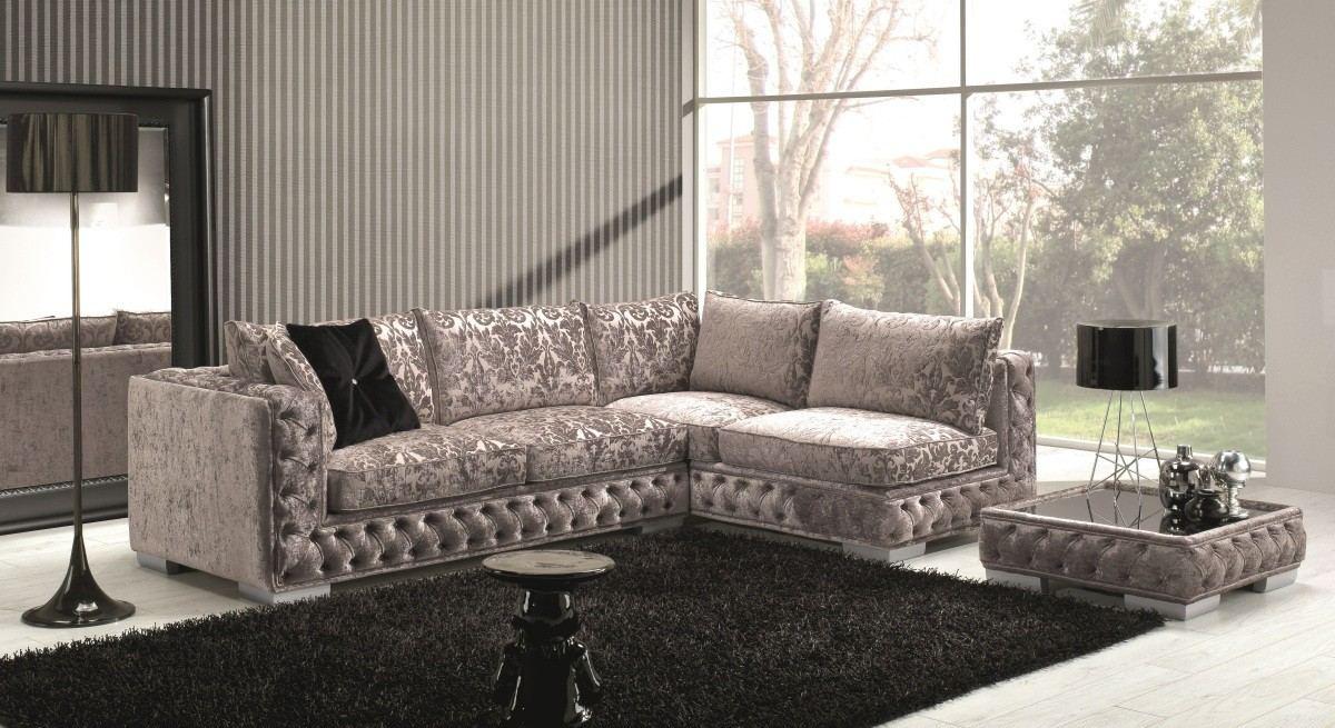 Sectional Fabric Sofa Severo