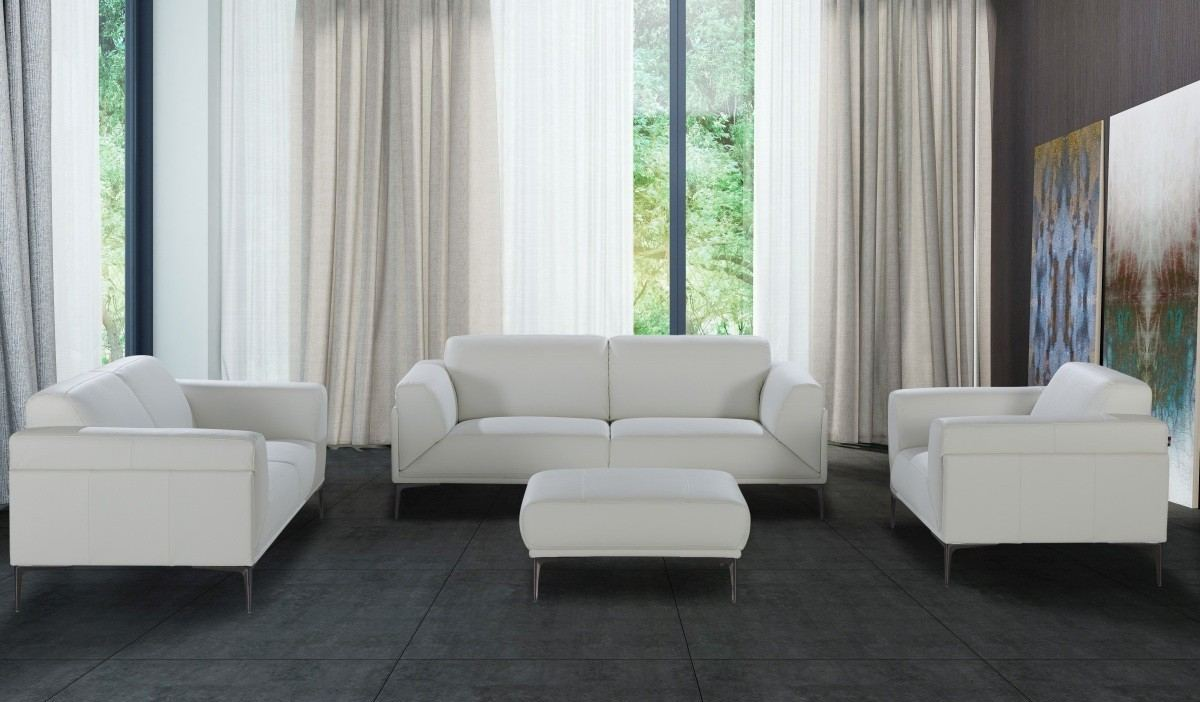 Sofa Set Piero white