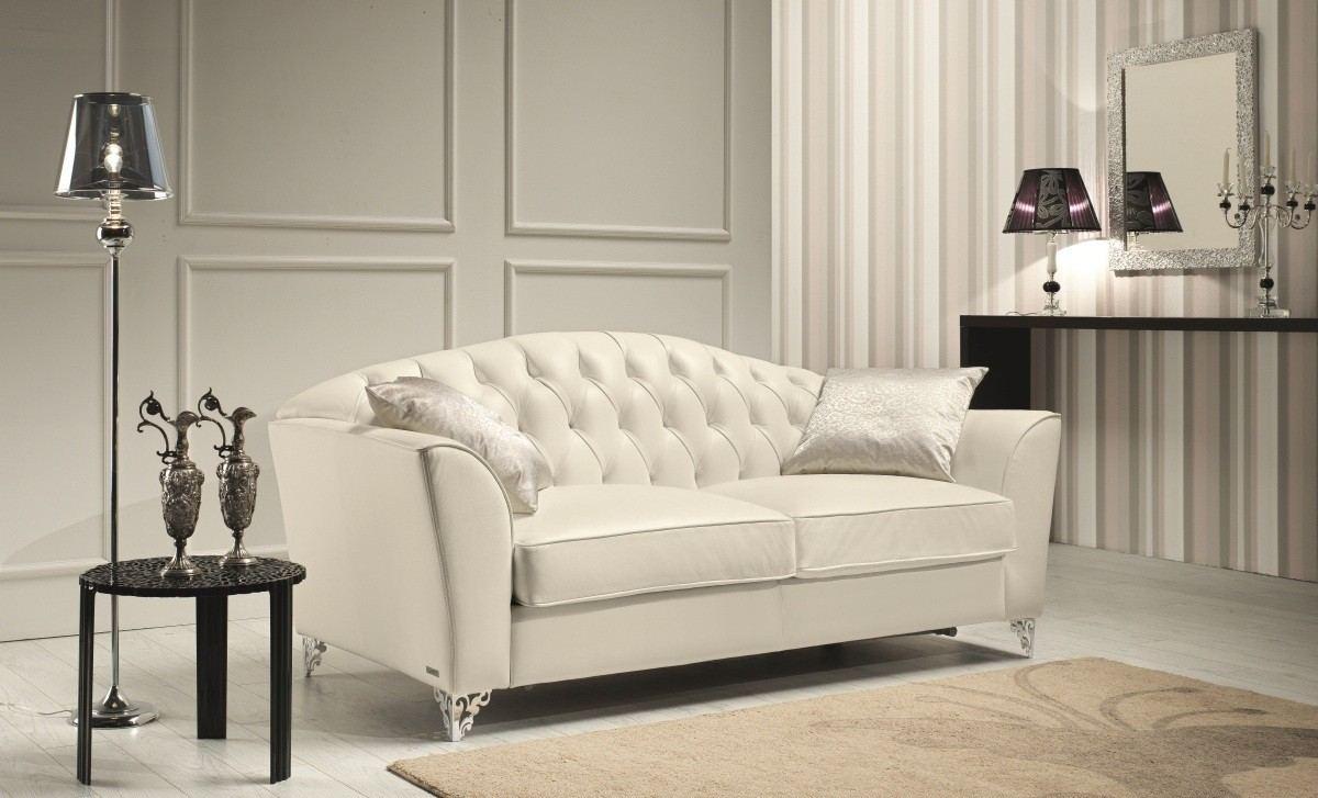 Tasso Sofa Set in White | Sofadreams