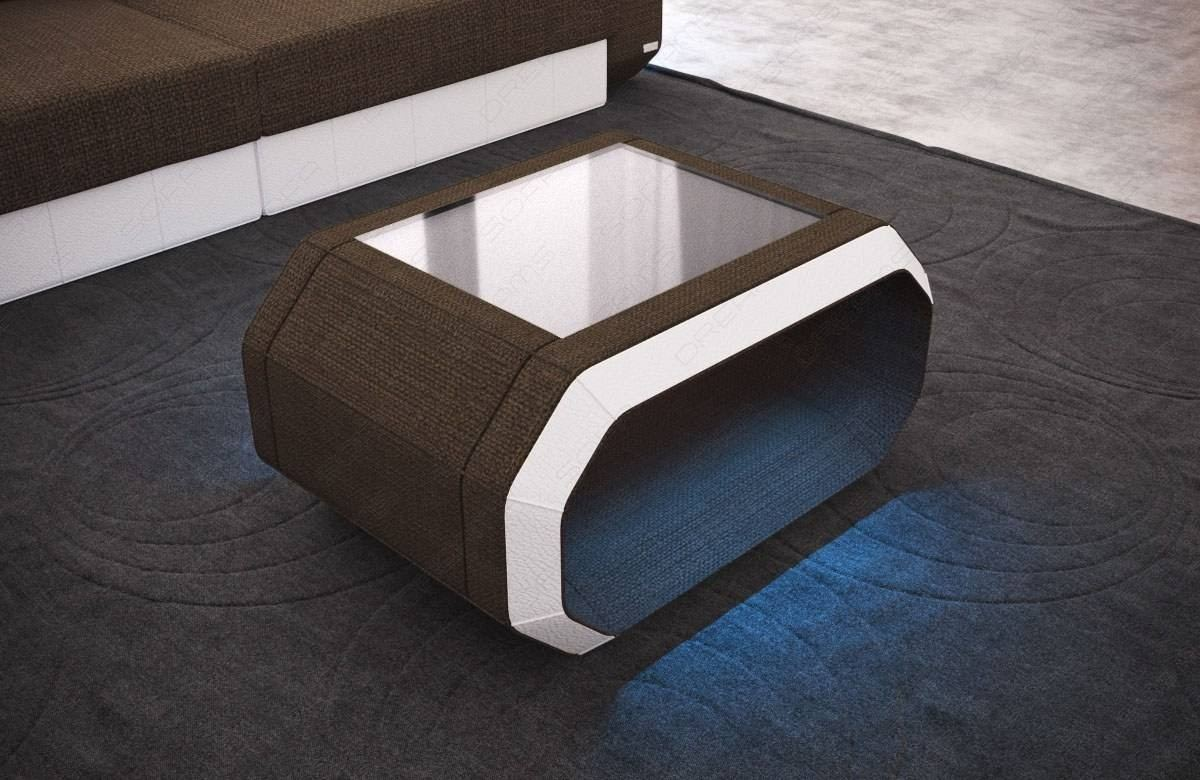 Fabric Coffee Table Brooklyn with LED
