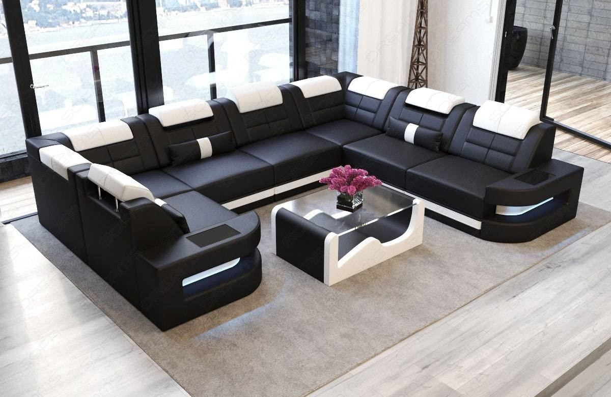 Leather Sofa Denver XL