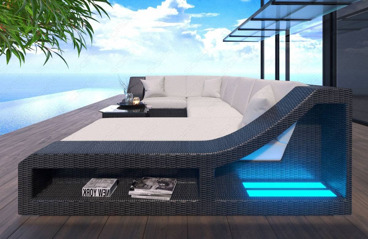 Patio Furniture Sofa New York with LED