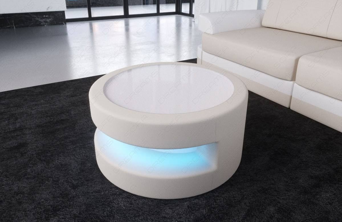 Fabric Coffee Table Tampa with LED