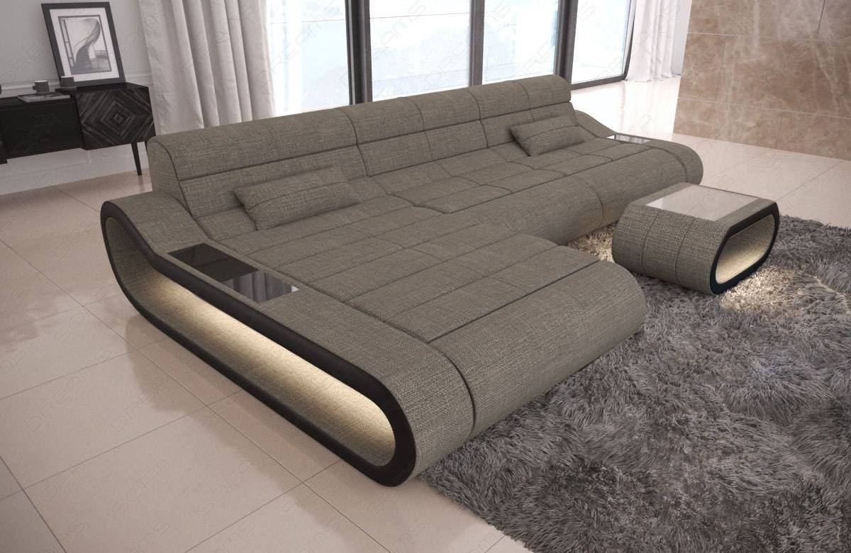 Design Fabric Sofa Concept L Long