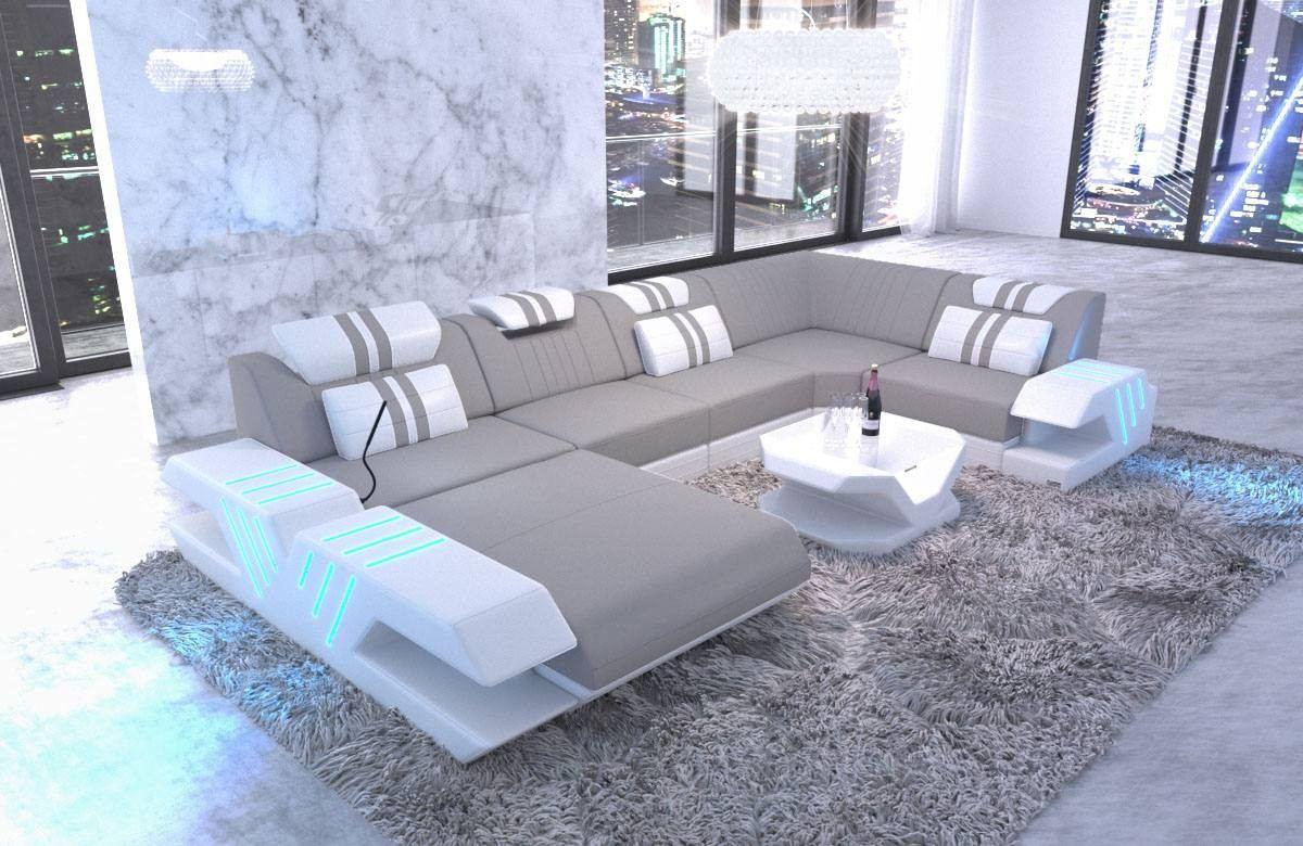Fabric sofa Beverly Hills U Shape