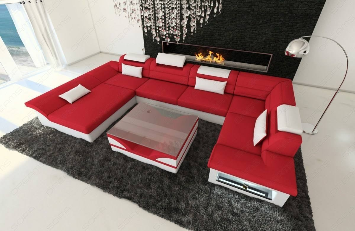 Fabric Design Sofa Atlanta with LED