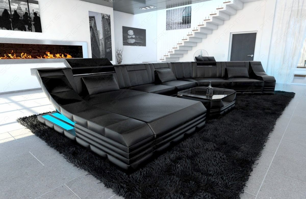 Design Sectional New York CL Shaped black
