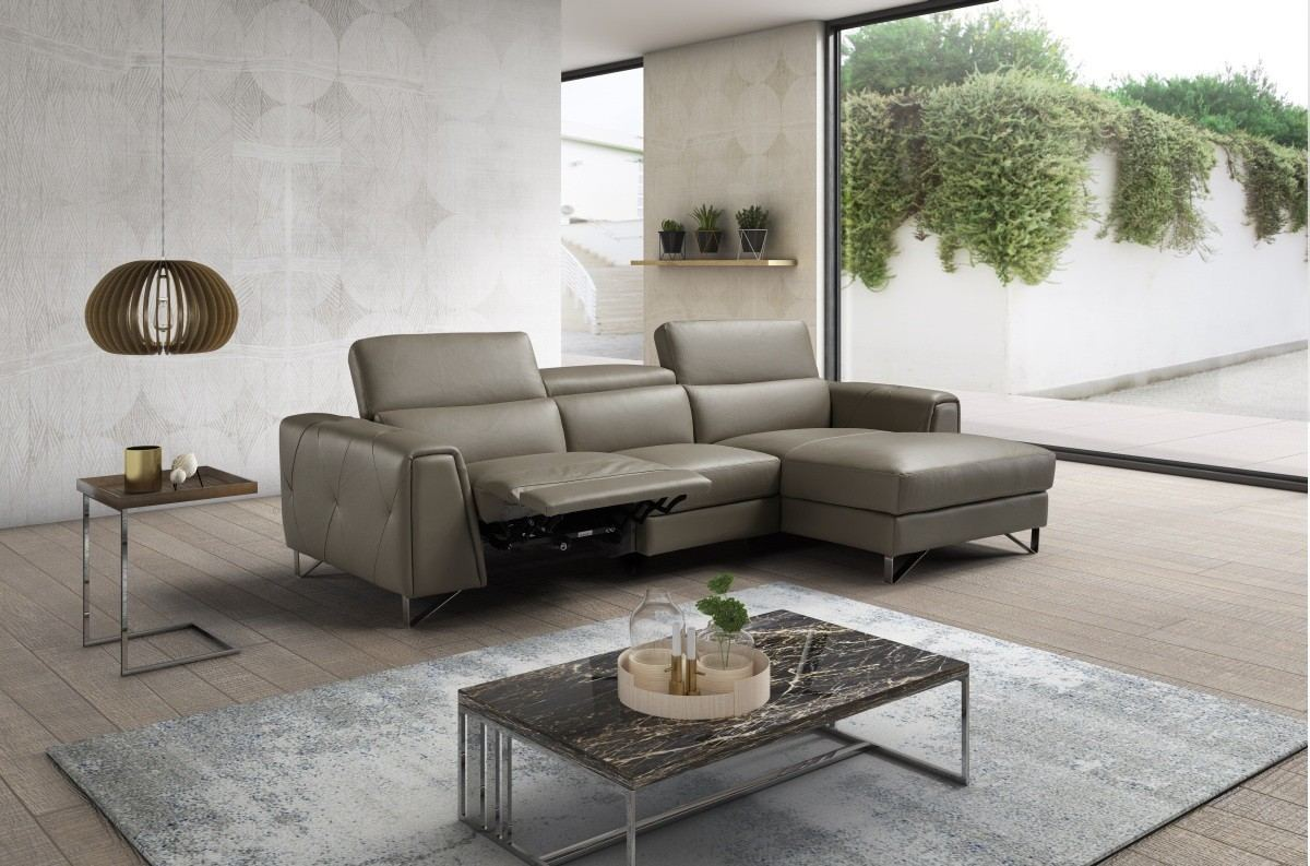 Motion Recliner Sectional Michele taupe