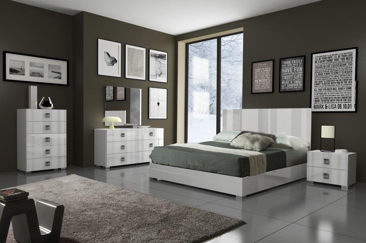 Bedroom Set Pisa white