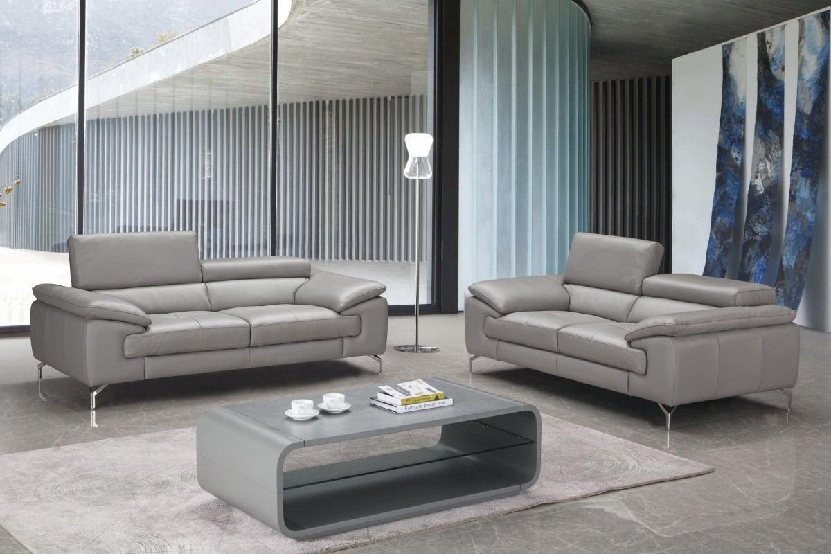 Sofa Set Rocky in grey