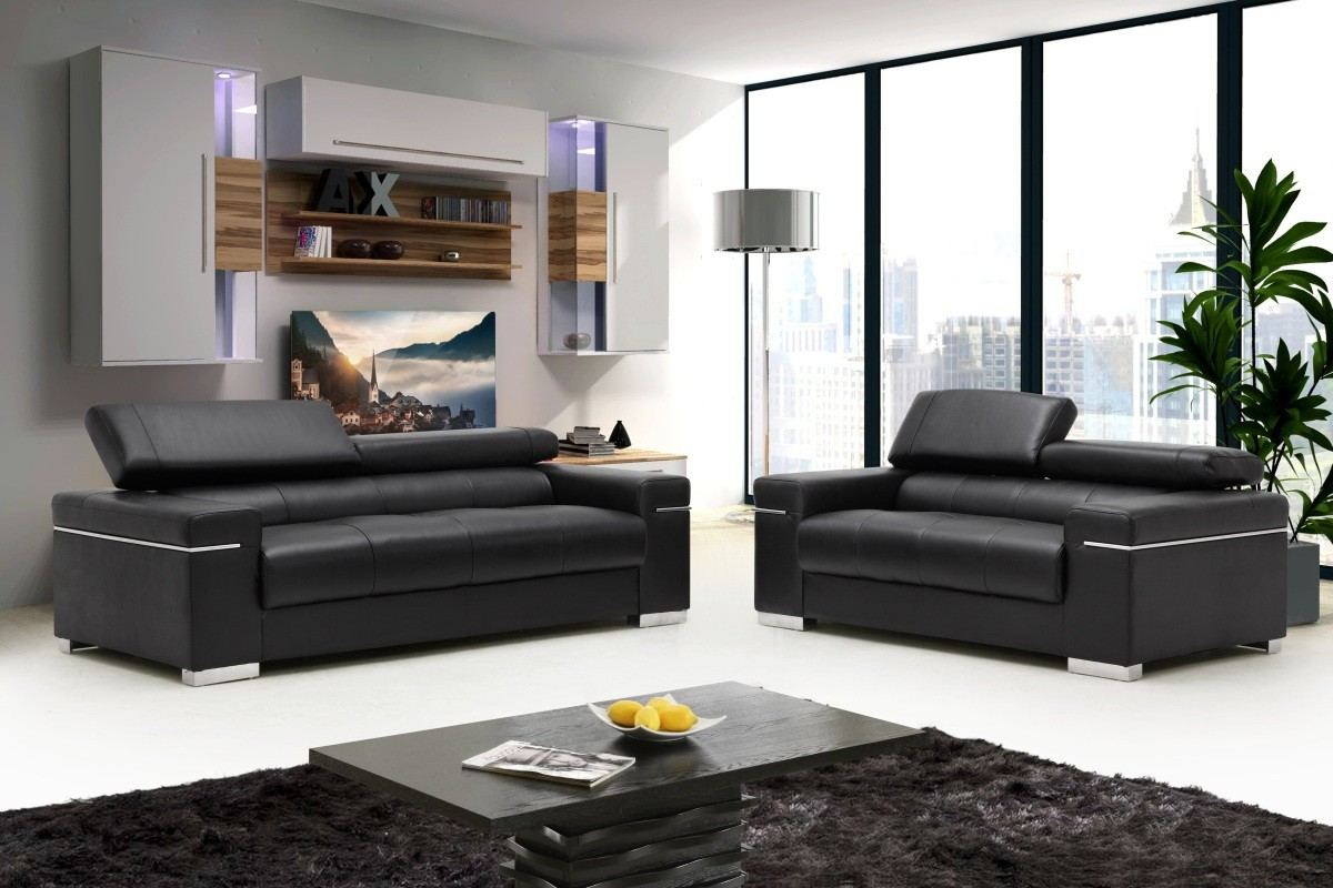 Sofa Set Silvio black