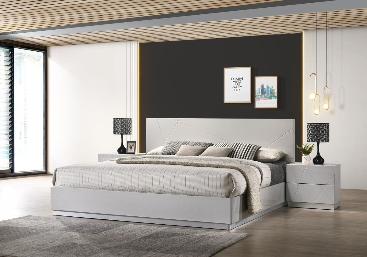 Bedroom Set Monza white
