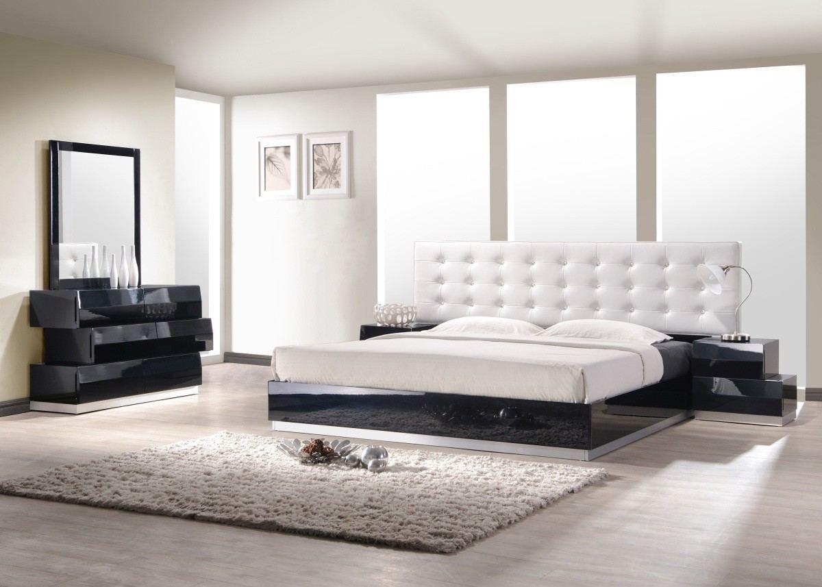 Bedroom Set Bari black