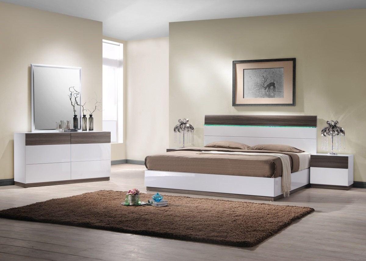 Bedroom Set Imola with Lights