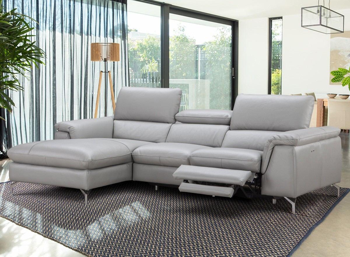 Motion Recliner Sofa Ajax grey