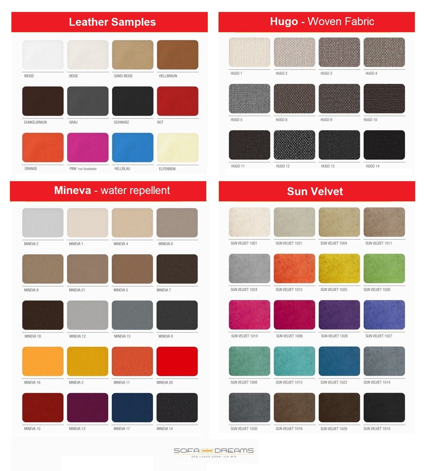 Select your desired sample