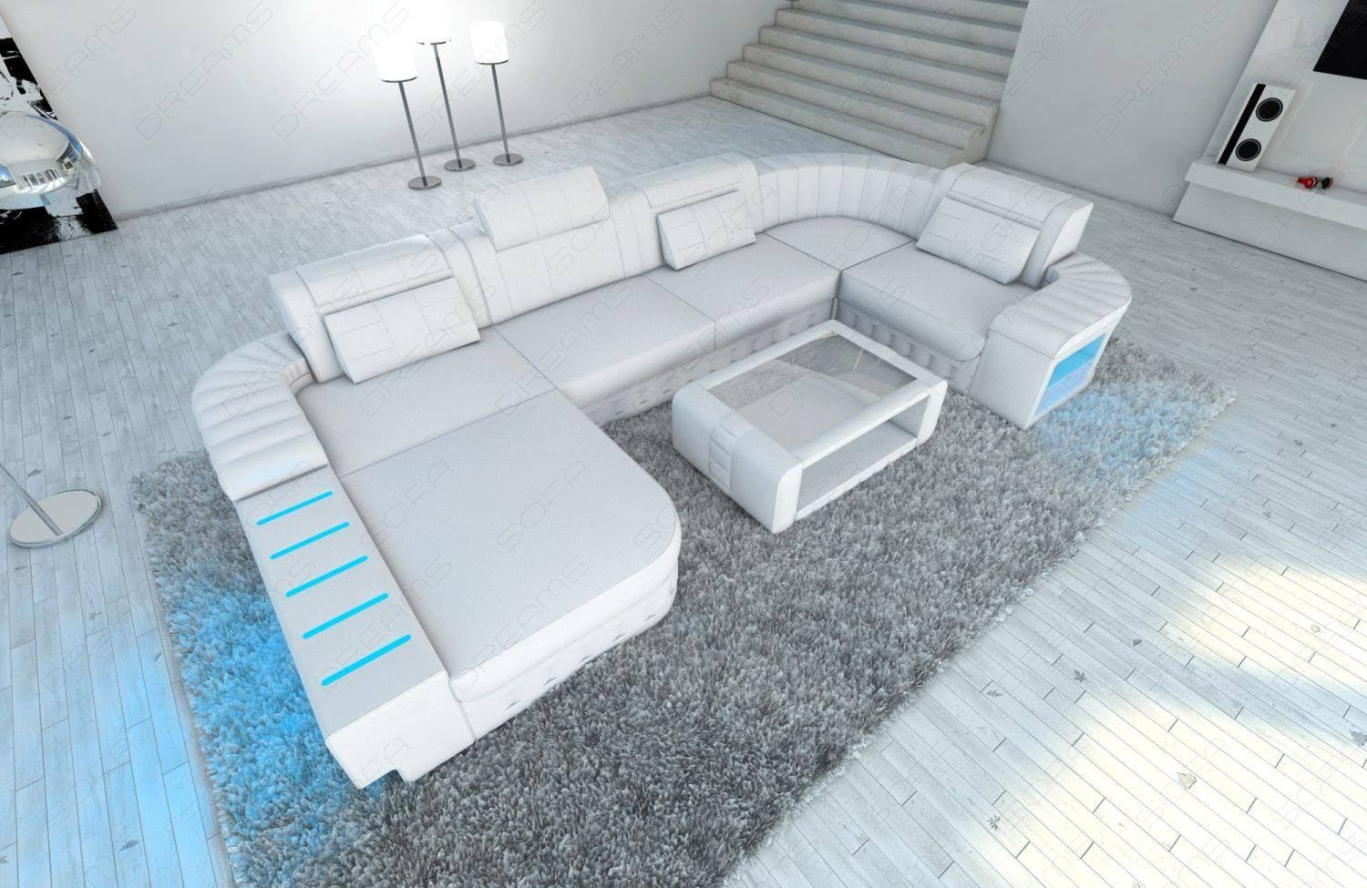 Design Sectional Sofa Boston LED U Shape