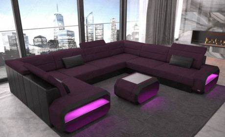 U Shaped Sofa | XL Sectional Sofas | SofaDreams