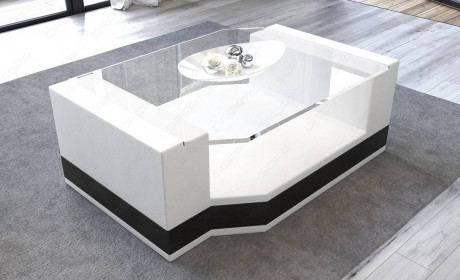 Coffee Table Leather Los Angeles