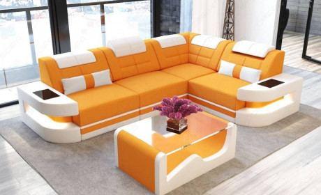 Fabric Sofa modern Denver L