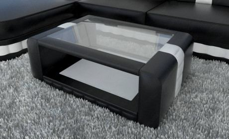 Design Coffee Table Boston in black-white