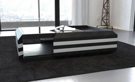 Leather Coffee Table Hollywood