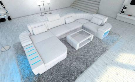 Design Sectional Sofa Boston LED U Shape