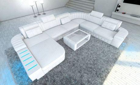 XL Sectional Sofa Boston LED U Shaped