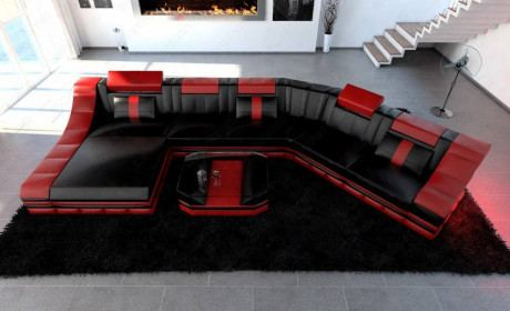 Luxury Sectional Sofa New York CL LED