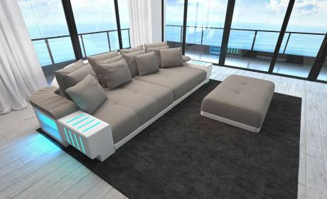 Fabric Sofa Austin with LED
