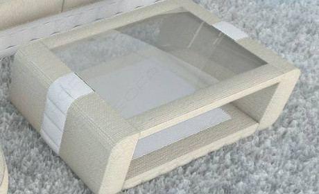 Fabric coffee table Boston