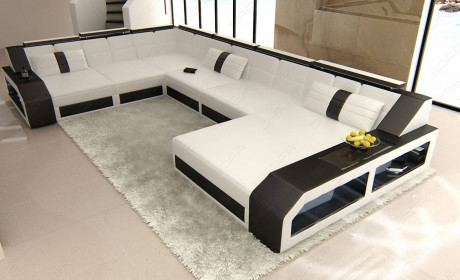 Contemporary Leather Sectionals | XL Sectional Sofa | SofaDreams