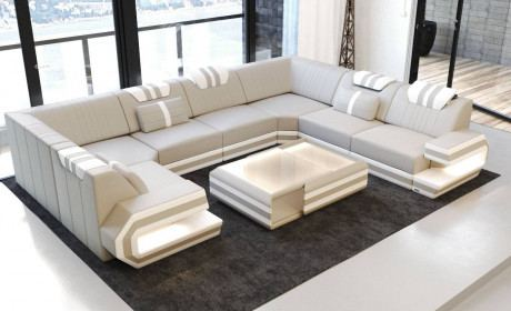 Modern Luxury Leather Sofas and Sectionals by Sofadreams | Page 3