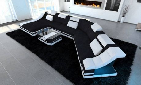 Fabric Design Sofa New York CL with LED