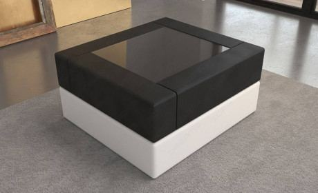 Coffee Table Leather San Diego