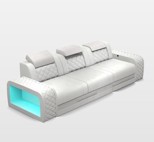 Design 3 Seater Charlotte with USB and LED Lights