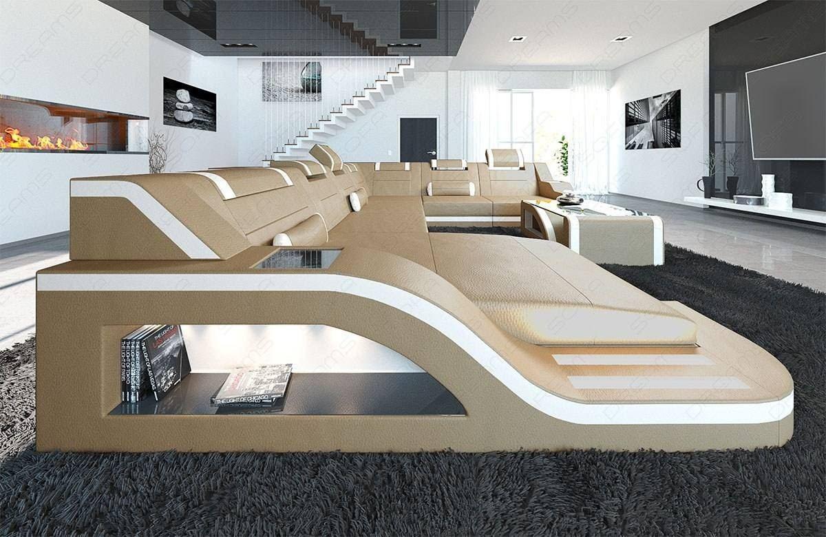 Wondrous Design Sectional Sofa Detroit Led Xl Shape Dailytribune Chair Design For Home Dailytribuneorg