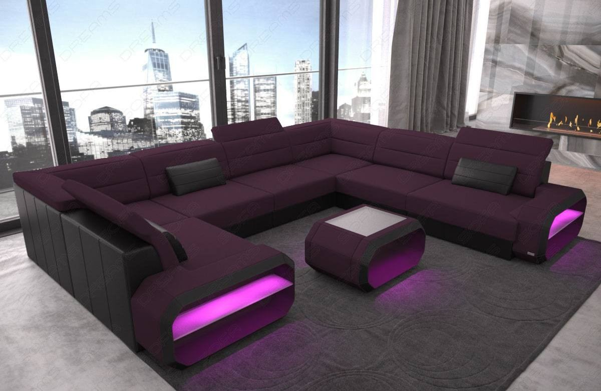 Fabric Sectional Sofa Seattle U shape