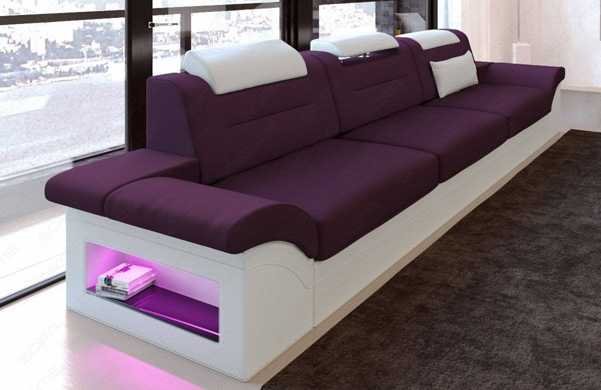 Atlanta Three Seater Fabric Sofa