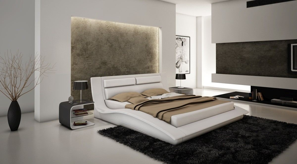 White Luxury Bedroom Furniture Set Varese Sofadreams