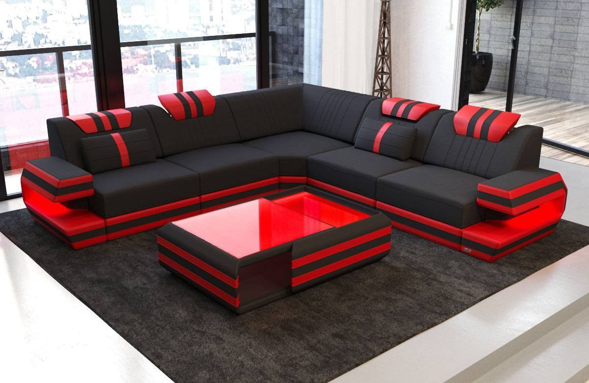 San Antonio Modern Fabric Sectional Sofa Sofadreams