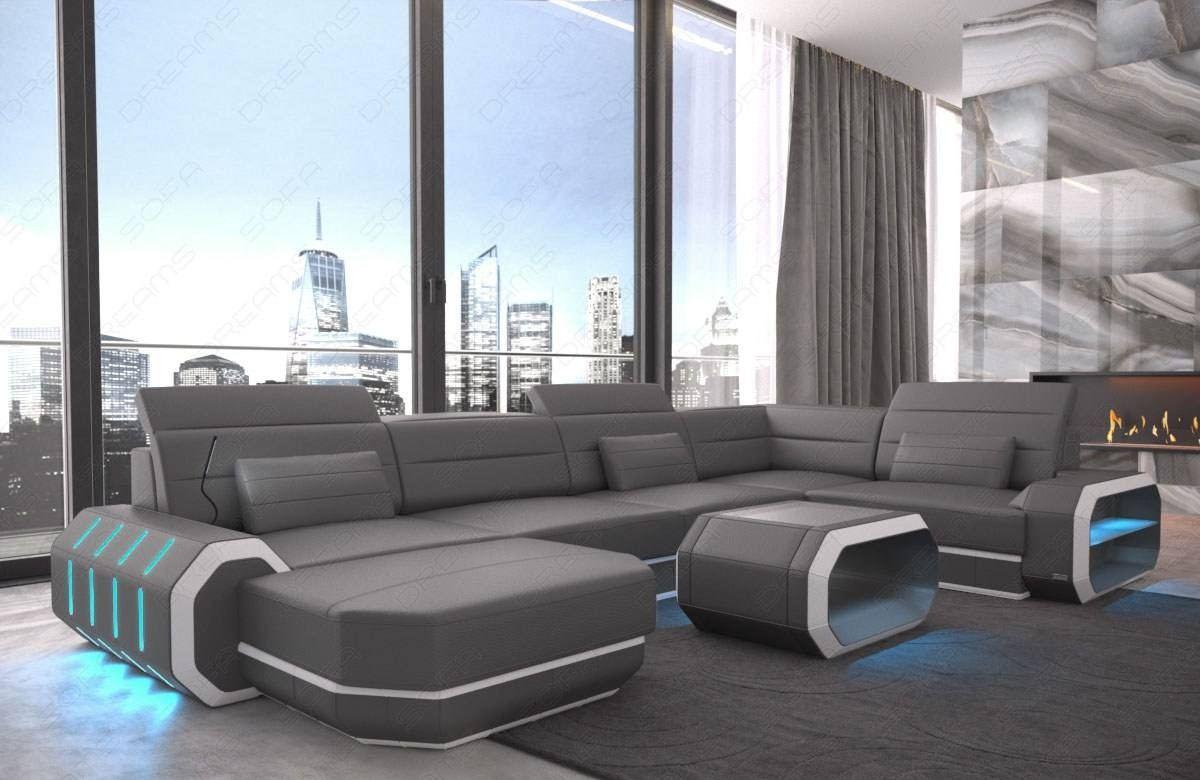 Brooklyn Leather Sectional Sofa Sofadreams