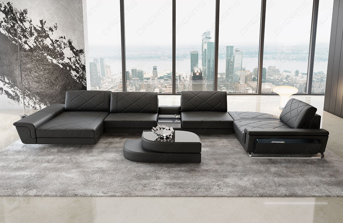 Sectional Leather Sofa Las Vegas U