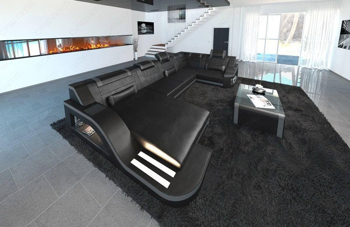 Surprising Design Sectional Sofa Detroit Led U Shape Dailytribune Chair Design For Home Dailytribuneorg