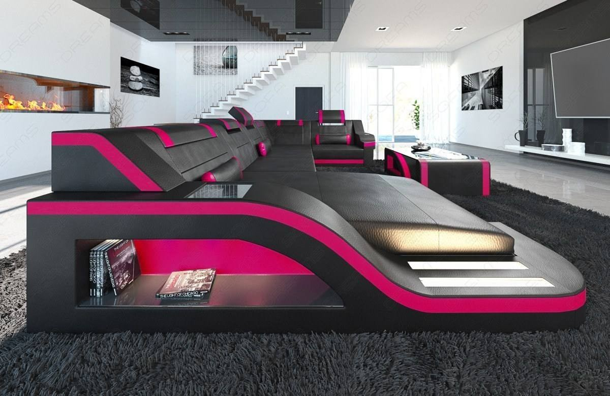 Awesome Design Sectional Sofa Detroit Led U Shape Dailytribune Chair Design For Home Dailytribuneorg