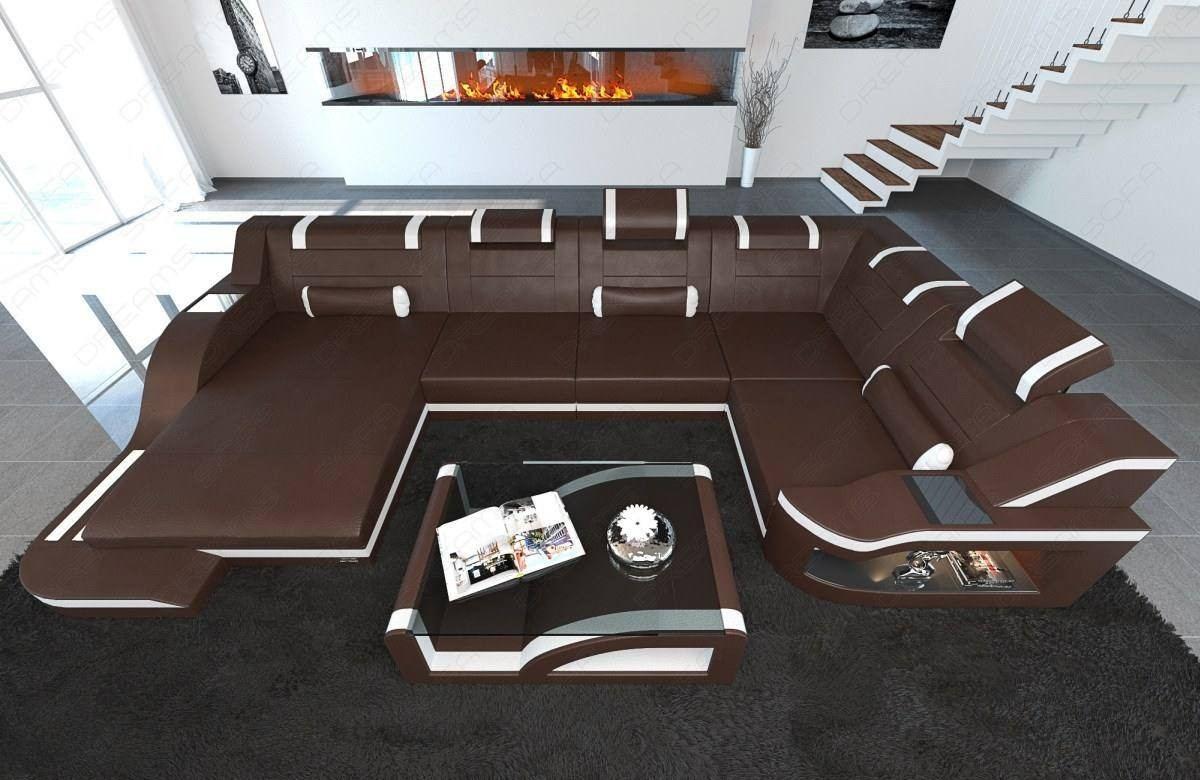 Brilliant Design Sectional Sofa Detroit Led U Shape Dailytribune Chair Design For Home Dailytribuneorg