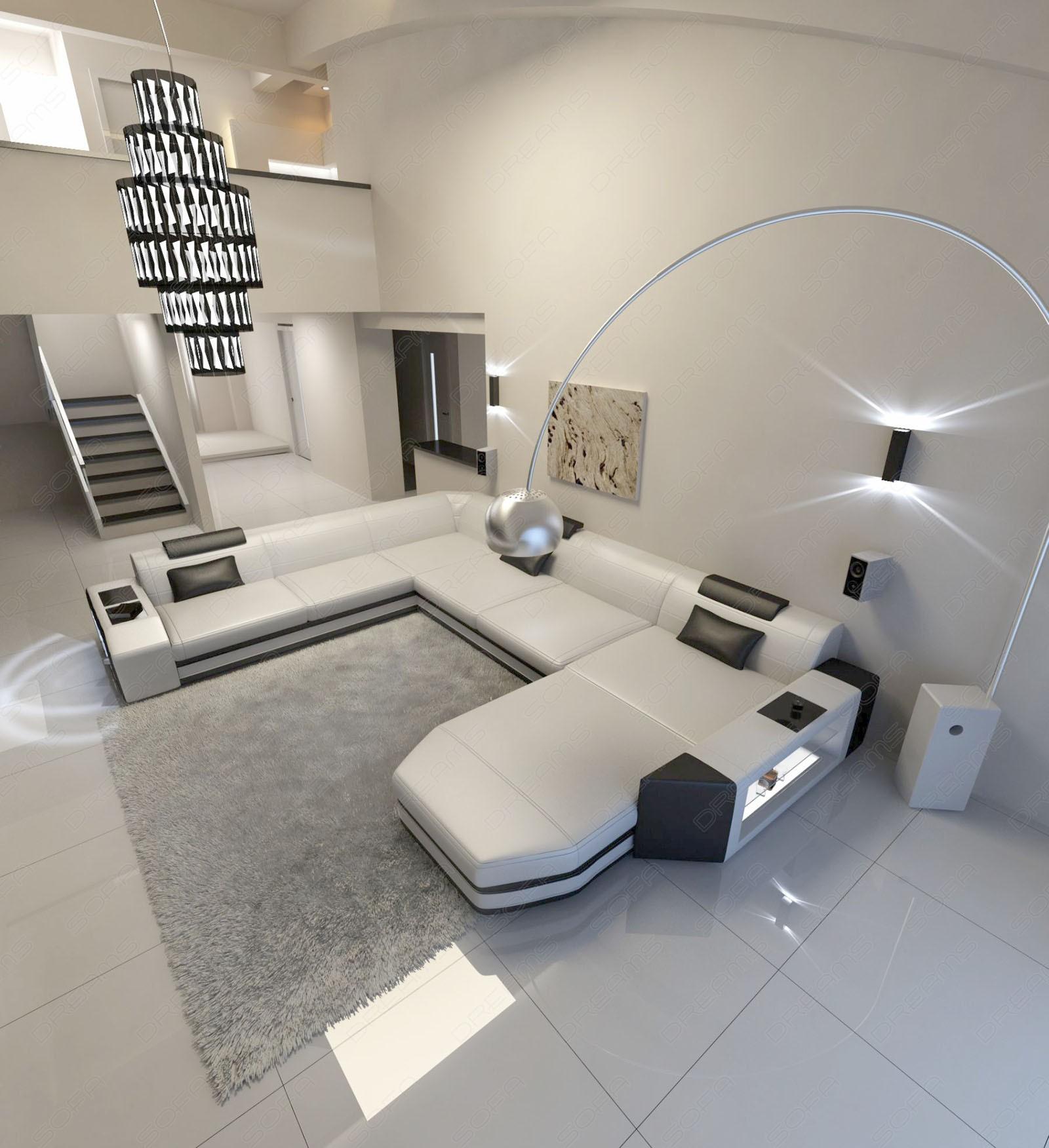 Dallas Modern Xl Fabric Sectional Sofa