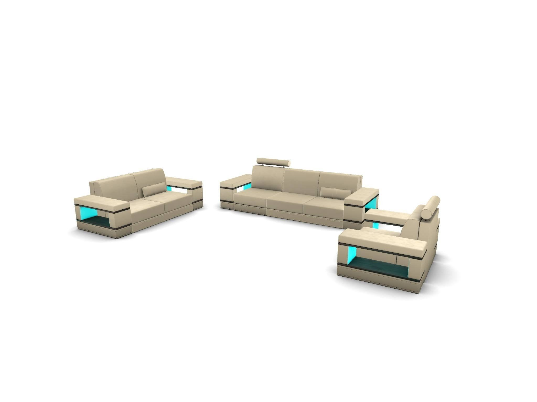 Couch Set Los Angeles 3-2-1