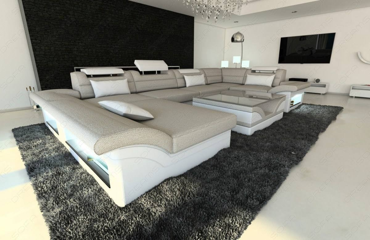 Fabric Design Sofa Atlanta with LED